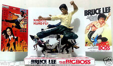 BRUCE LEE - THE BIG BOSS Action Figure Display Diarama on Custom Design Diorama