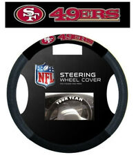 San Francisco 49ers Mesh Steering Wheel Cover [NEW] NFL Car Auto CDG