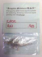 Vintage AD&D Irregular Miniatures Metal Figures Crocodile 25mm NIP