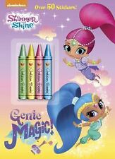 Color Plus Crayons and Sticker: Genie Magic! (Shimmer and Shine) by Golden...