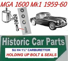 "MGA 1600 & Deluxe Mk2 1958-60 - H4 1½""  Carb F/Ch HOLDING UP BOLT & SEALS MG A."