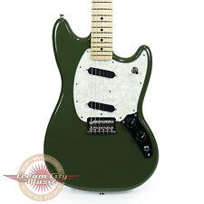 Brand New Fender Mustang with Maple Fingerboard in Olive