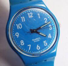 2009 Blue Swatch Watch - Working