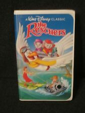 Disney The Rescuers 1992 VHS Black Diamond Classic Edition Great condition