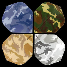 DART FLIGHT BUNDLE - CAMOUFLAGE - 4 SETS (12 STÜCK) RUTHLESS R4X STANDART 100Mic