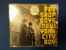 PET SHOP BOYS - NEW YORK CITY BOY. CD SINGOLO 3 TRACKS