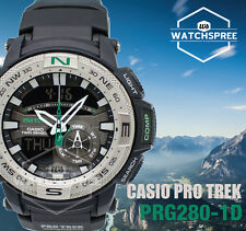 Casio Protrek Twin Sensor and Super Illuminator Series Watch PRG280-1D