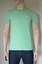 NEW Abercrombie & Fitch Jackrabbit Trail Green Ringer Moose Tee T-Shirt XL