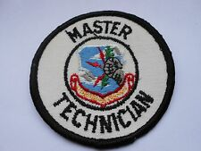 vintage patch of the strategic air command    master technician