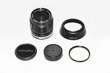 Minolta MC W.Rokkor-HH 35mm f/1.8 Wide-Angle Lens w/Shade + UV Filter