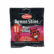 Carplan Demon ONE SHOT Shine Pour On Instant Car Wash Cleaner Polish Wax 50ml