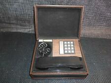 Old Vtg 1970's DECO-TEL Push Button Personal TELEPHONE Phone Concealed Box WORKS