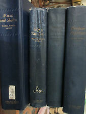VOLUMES 1,2,3,4 Complete SET 1ST.EDITION INTIMATE MEMORIES by MABEL DODGE LUHAN