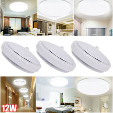 12W PIR LED Mounted Ceiling Light Modern Infrared Motion Sensor Auto Lamp Room