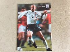 Angleterre direct de football 2001 catalogue