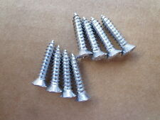 8 NEW SILL PLATE SCREWS! - FOR EARLY MODEL CARS AND TRUCKS! SHOW QUALITY! NICE!