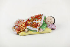 HEREND CHINESE BABY BOY 20s Porcelain Hungary, RARE!