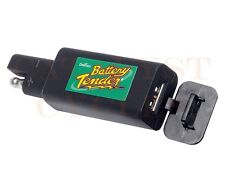 BATTERY TENDER - QUICK DISCONNECT PLUG WITH USB CHARGER FOR CELL PHONE, GPS, ETC