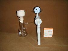 250 ml Filtration set(filtration flask+Buchener Funnel+Vacuum pump+filter paper)