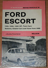 Ford Escort 1100 1300 1300GT Twin Cam Saloons Estate Cars And Vans From 1968