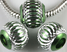 Lots 6/8/10/12mm Aluminum Carved Lantern Loose Spacer Beads Craft Jewelry Making