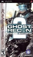 Tom Clancy's Ghost Recon: Advanced Warfighter 2 (Sony PSP, 2007) VERY GOOD