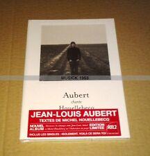 JEAN LOUIS AUBERT CHANTE HOUELLEBECQ - DIGIPACK DELUXE EDITION - NEUF