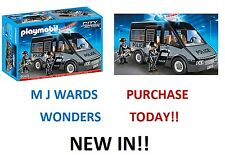 Playmobil City 6043 - Action Police Van with Lights and Sound
