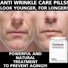 CONTURE ANTI AGING PILLS TABLETS STOP SAGGING REMOVE WRINKLES CROWS FEET