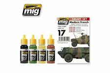 AMMO OF MIG A.MIG-7151 Modern French Armed Forces Colors Set 4 Jars 17ml