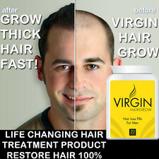 VIRGIN HAIR GROWTH PILLS TABLETS FAST HAIR GROWTH LONG STRONG HAIR NATURAL