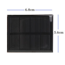 2V 0.6W 300mA Mini Solar Panel Module DIY for Phone Toys Light Charger