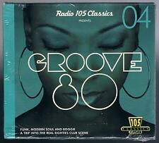 FOR DJS dj's ONLY GROOVE 80 RADIO 105 CLASSICS 04 CD F.C. SIGILLATO!!!