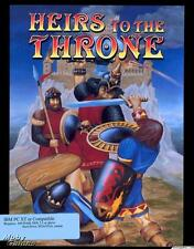 Heirs to the Throne PC CD play as war baron role-playing kingdom adventure game!