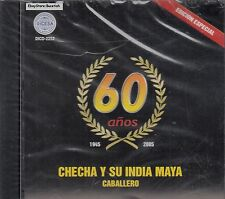 Checha Y Su India Maya Caballero 60 Anos CD New Sealed