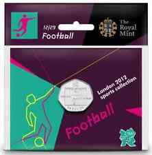 London 2012 Royal Mint Olympic Football 50p coin RAREST Sealed Uncirculated