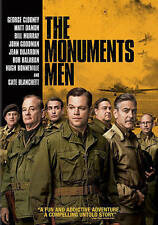 The Monuments Men (DVD, 2014) Excellent Condition