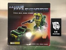 Transformers iGear Mini Warriors MW-03 Hench ( Brawn ) 100% Complete