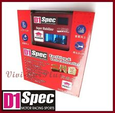 RED Authentic D1 SPEC Voltage Stabilizer II LED Display For Civic Fit Nissan S14