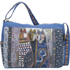 Laurel Burch Autumn Felines Medium Shoulder Bag - Multi