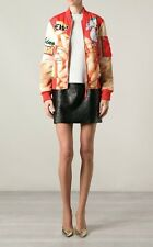 MOSCHINO COUTURE MULTI PRINT PUFF BOMBER JACKET Sz. 6 US / 40IT