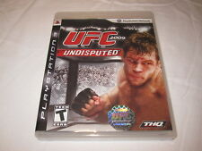 UFC 2009 Undisputed (Playstation PS3) Original Release Complete Nr Mint!