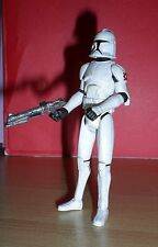Star Wars THE CLONE WARS AT-TE VEHICLE CLONE TROOPER Loose