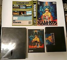 2  GAMES  MAGICIAN LORD +  NAM 75 1975  FOR THE  NEO GEO AES HOME CONSOLE CIB