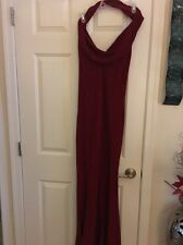 Red Chache Gown  Size 8