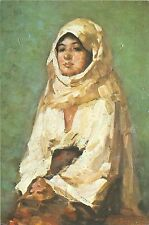 B16048 Art Peinture Painting Grigorescu Peasant Woman with veil