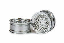 RCG Racing 1/10 On-Road BBS Silver Dish Wheels (2) +6mm 5029