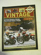 April/May 2011 issue 262 Vintage Views AHRMA Magazine  (BD-45)