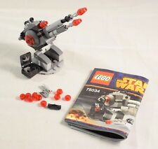 Lego Star Wars 75034 Death Star Troopers Cannon Instructions No Box or Minifigs