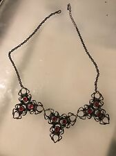 BUY NOW - Red Back Spider Gothic Emo Necklace